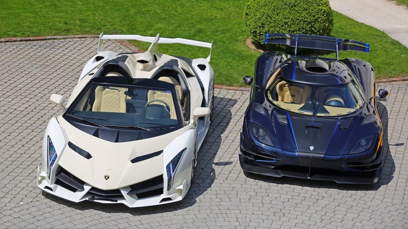Supercar Collection Auction