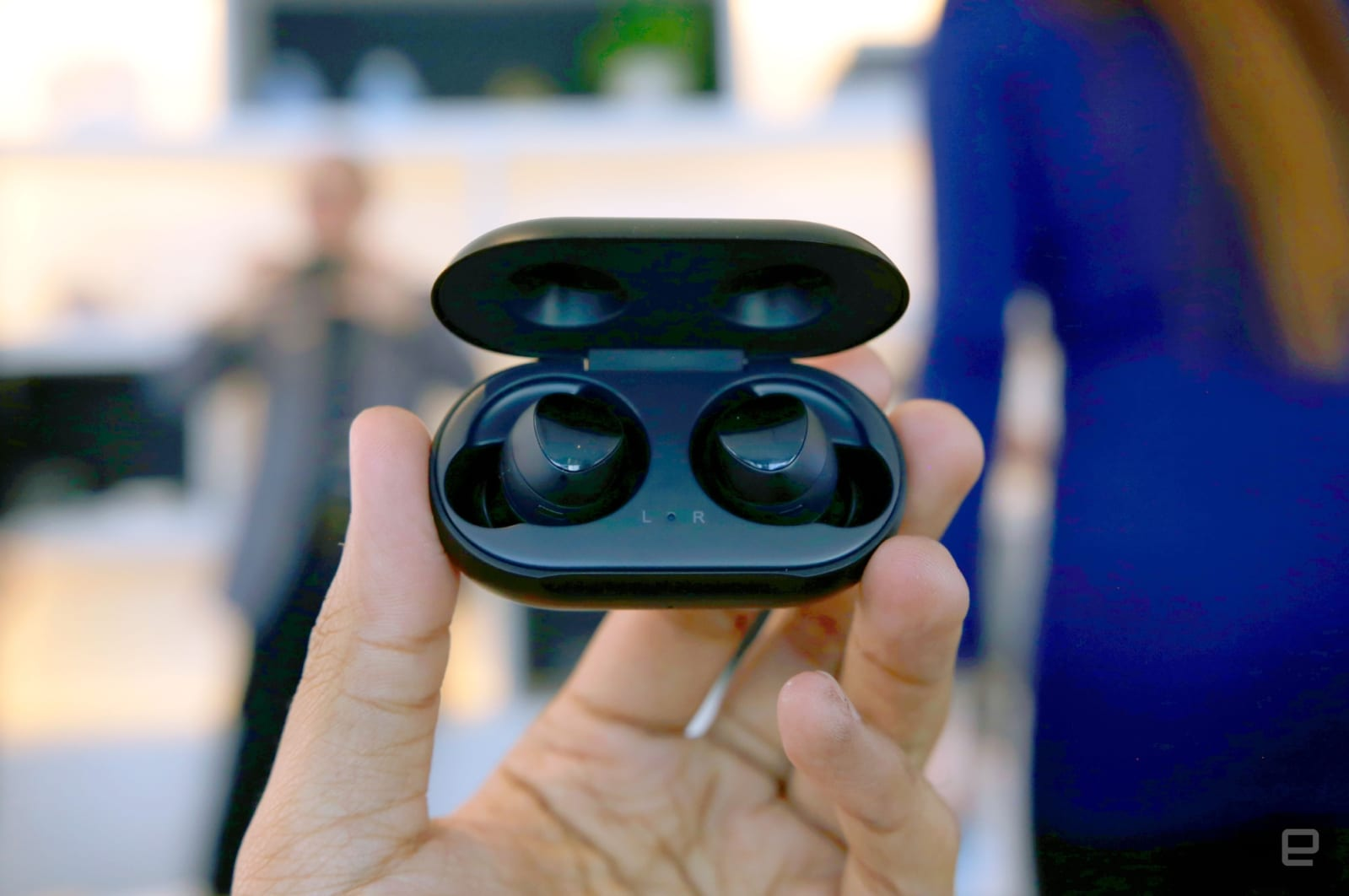 5f90a00f2a5 Samsung's true wireless Galaxy Buds are tailor-made for the S10