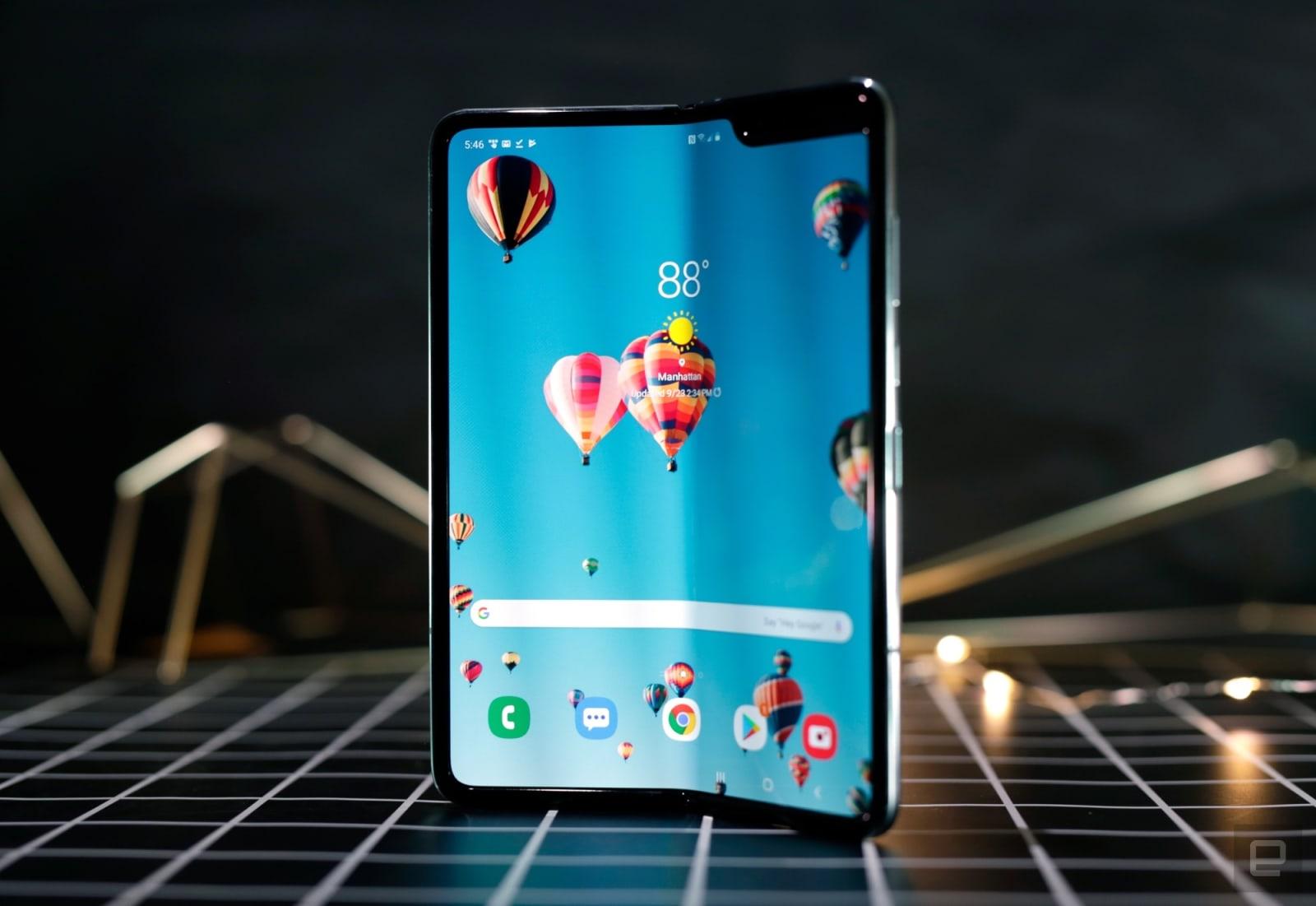 Samsung Galaxy Fold (redesigned)
