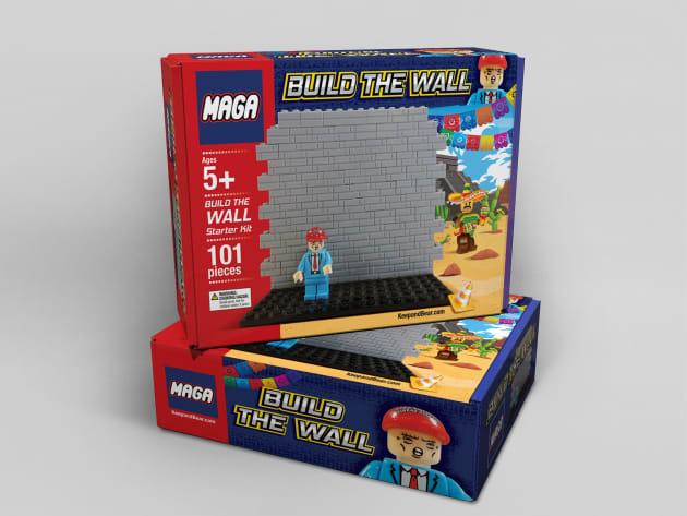 Este Juguete Invita A Los Niños A Construir Un Muro Que Impida El