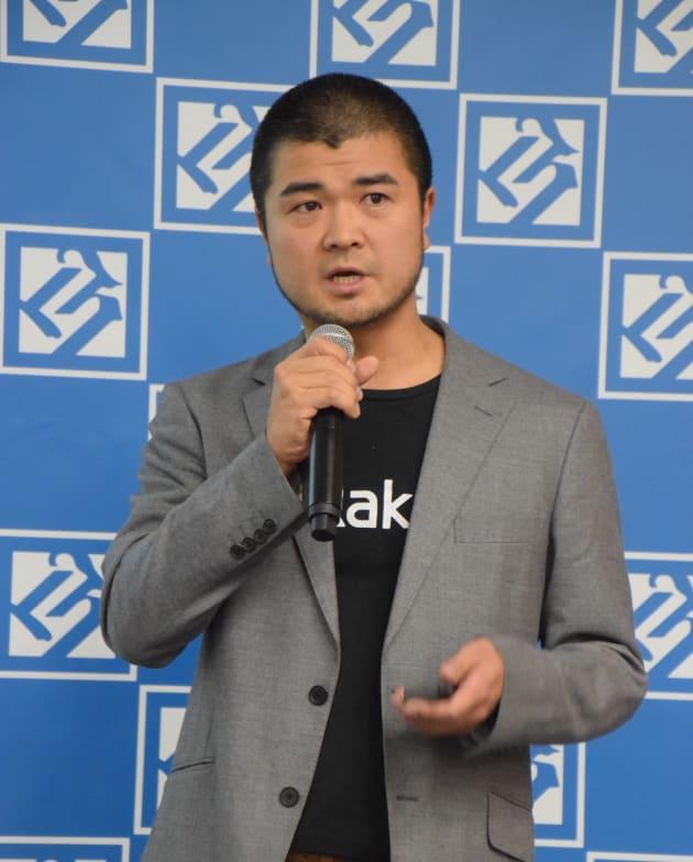 取締役CTO・ハコベル事業本部長の泉雄介さん