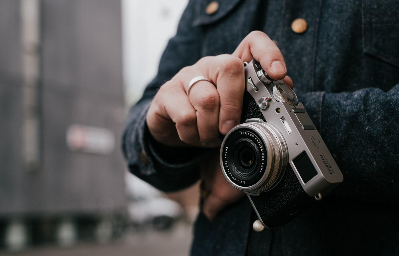 Fujifilm X100V compact fixed-lens APS-C camera