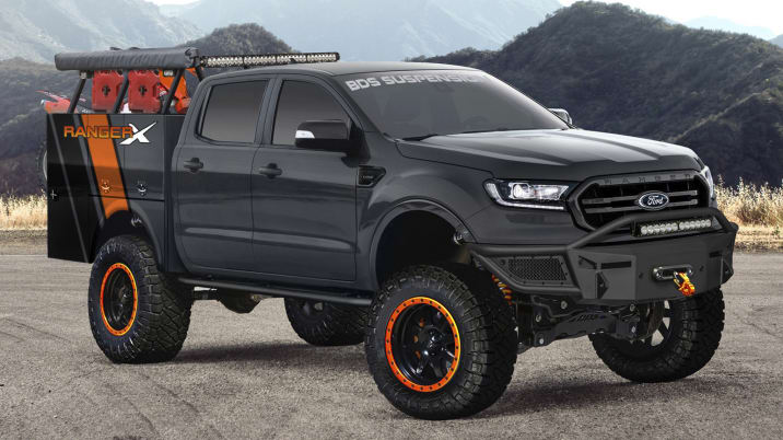2019 Ford BDS Project Ranger X SEMA concept