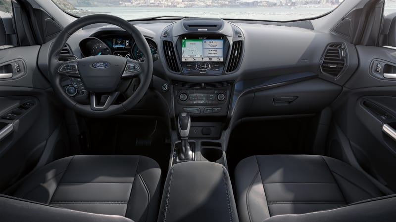 2018 Ford Escape interior instrument panel