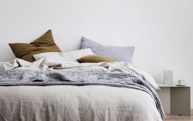 bedroom products bedding elm flax west shams linen duvet set cover belgian o white
