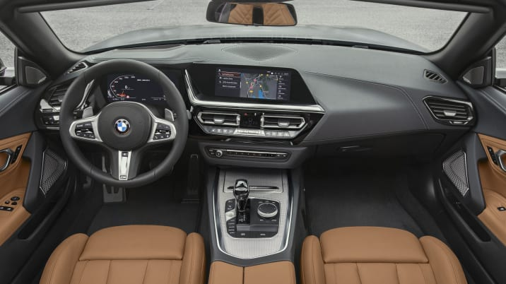 2019 Toyota Supra Interior Engine Seen Undisguised Autoblog