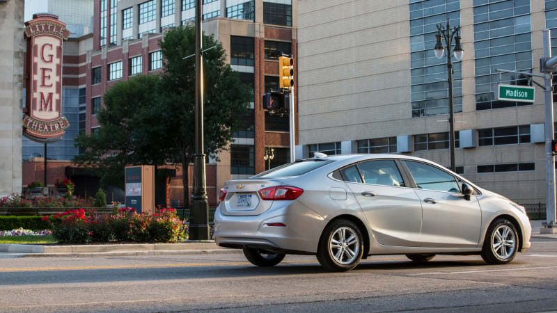 2018 Chevrolet Cruze Information