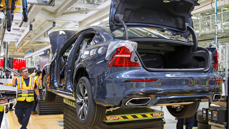 Volvo S60 South Carolina factory is an assault on America's