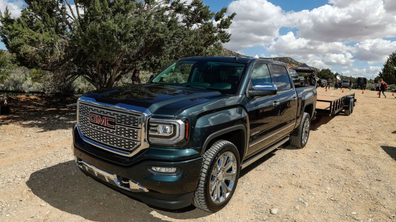 The GMC Tow Like a Pro media drive Wednesday, May 23, 2018 at the Coral Pink Sand Dunes in St. George, Utah. (Photo by Isaac Brekken for GMC)