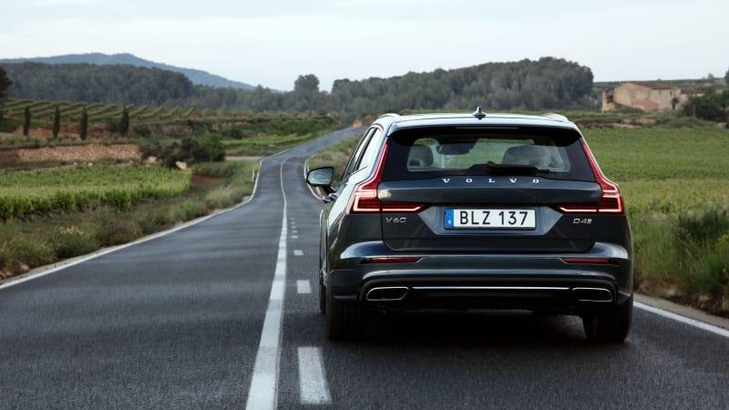 2019 Volvo V60 wagon road test review   Autoblog