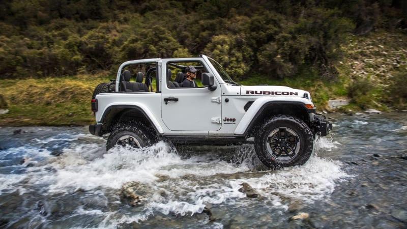 All-new 2019 Jeep Wrangler Rubicon