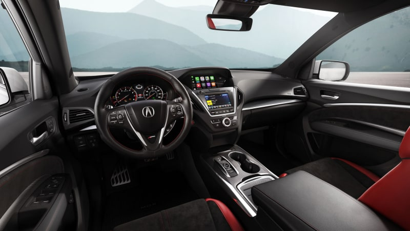 Acura MDX Threerow Crossover Gets Sharper Handling And Looks - Acura mdx 20 inch wheels