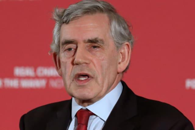 Gordon Brown warns of 'battle for Britain'