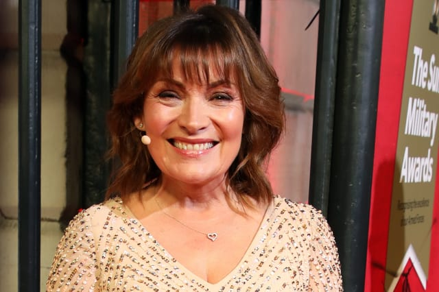 Lorraine Kelly discusses 'difficult time' after miscarriage