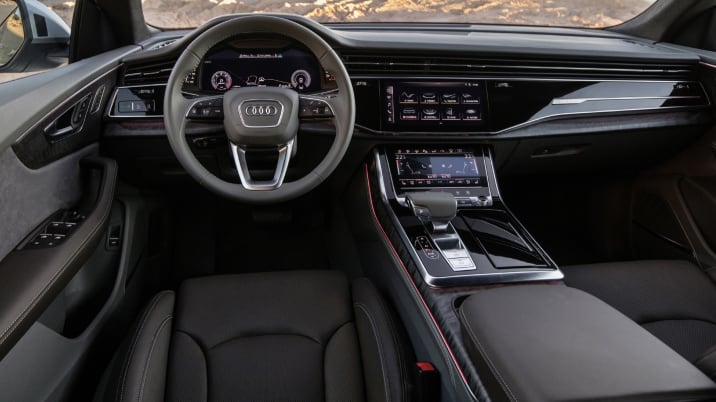 2019 Audi Q8 First Drive Review Style And Substance Weighed In The