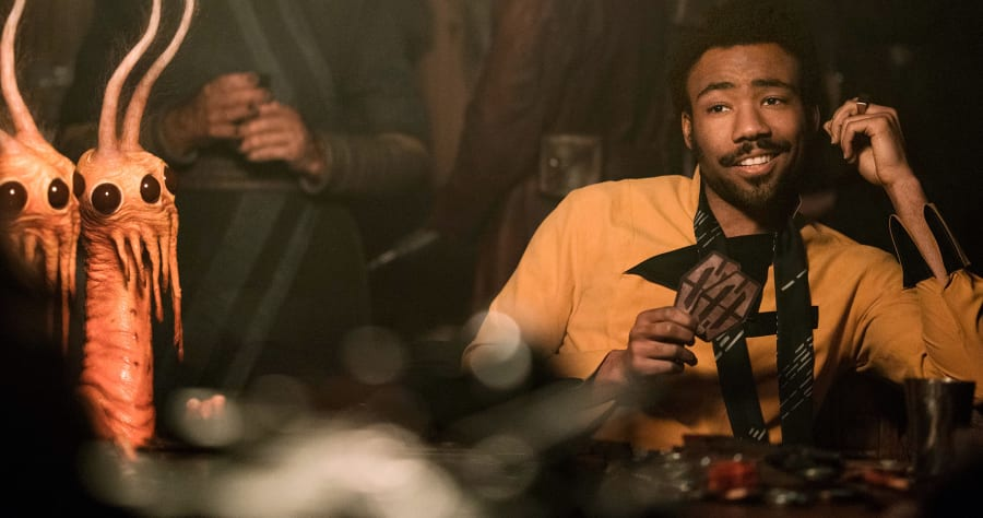 SOLO: A STAR WARS STORYDonald Glover is Lando Calrissian