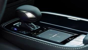 2018 Lexus LS touchpad