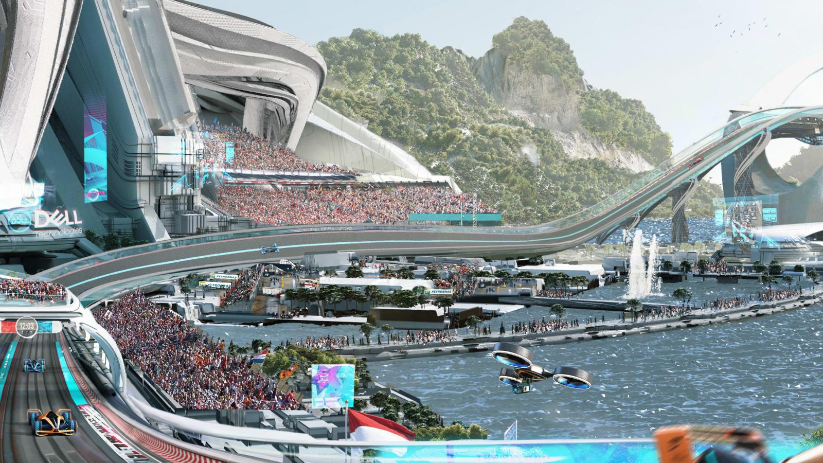 Formula 1 in 2050