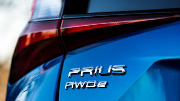 2019 Toyota Prius AWD-e badge