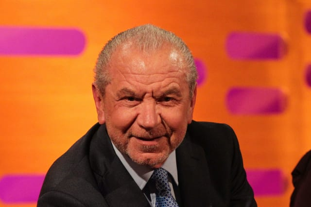 Lord Sugar criticised for sharing coronavirus conspiracy theory on social media
