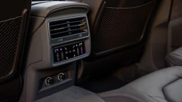 Audi Q8 rear climate controls