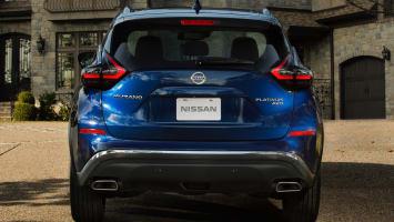 Nissan Murano rear