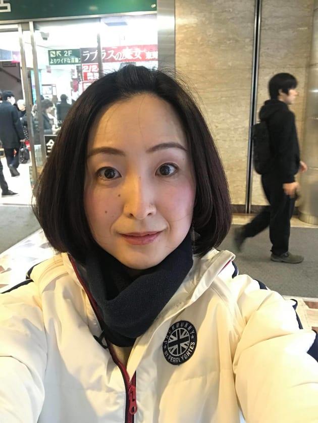 フリーアナウンサーの田添菜穂子さん