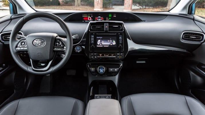 2019 Toyota Prius AWD-e interior