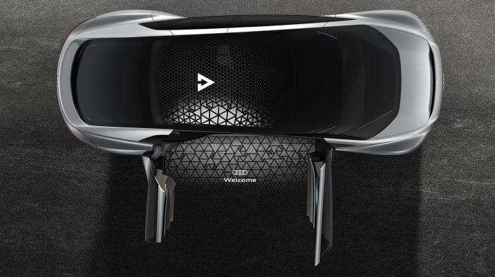 Audi Aicon Concept top