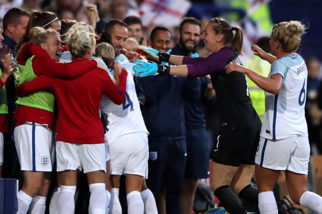 England v Russia - FIFA 2019 Women's World Cup Qualifying - Group One - Prenton Park