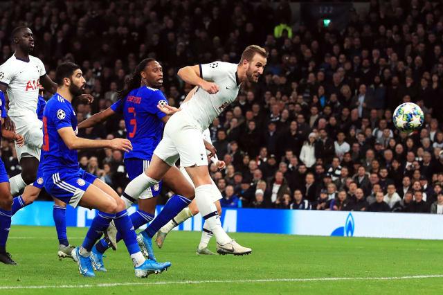 Kane brace caps comeback as Mourinho's Tottenham reach knockout stage