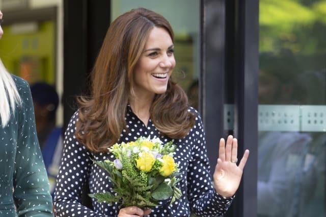 Kate visits Sunshine House - Peckham