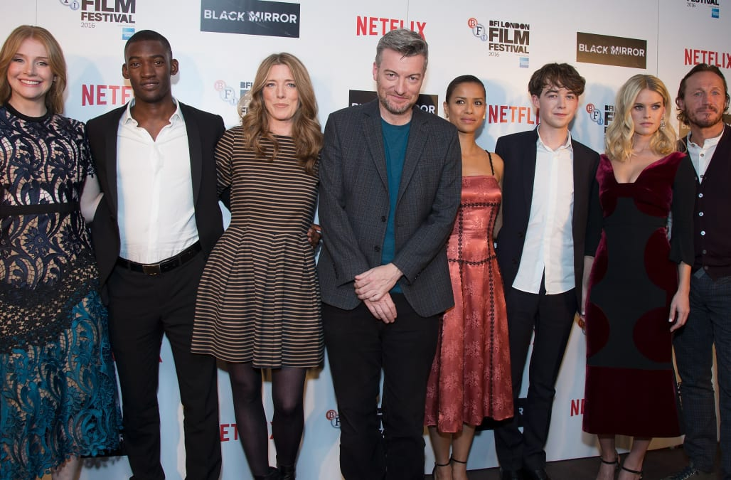 LFF Connects Television: 'Black Mirror' Premiere - VIP Arrivals