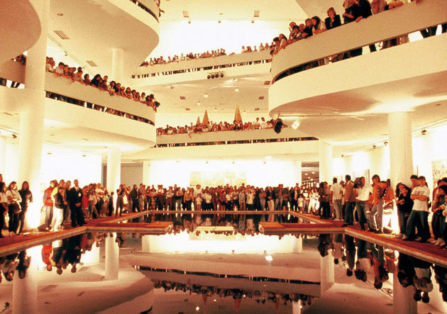第21回サンパウロ・ビエンナーレのメイン・フロアでの展示(1991年)