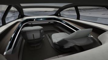 Audi Aicon Concept interior