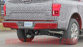 Ford F-150 EV spy shot