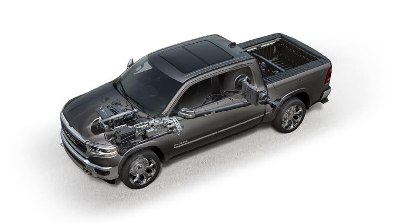 2019 Ram 1500 – 3.6-liter eTorque Powertrain