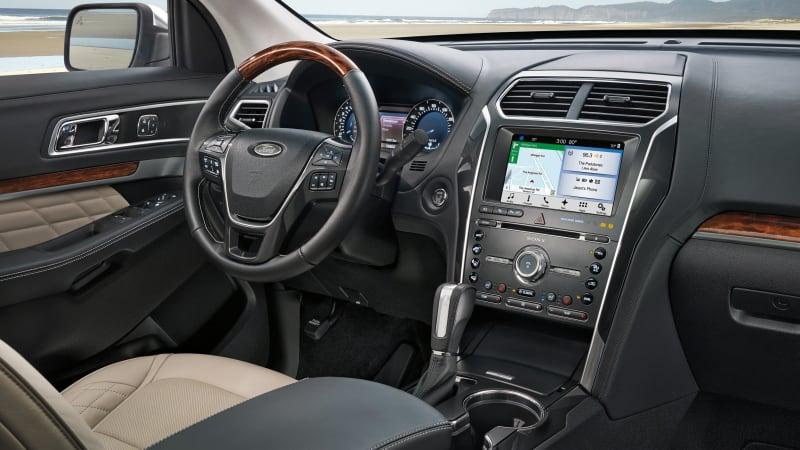 2018 Ford Explorer Interior