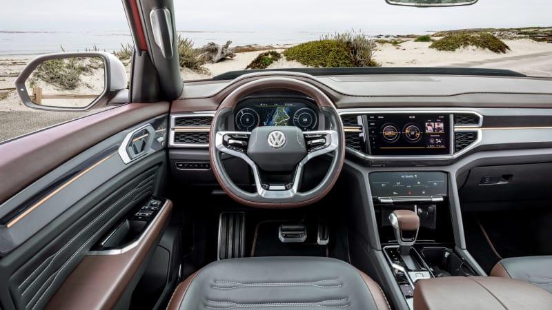 Volkswagen Atlas Tanoak Truck concept