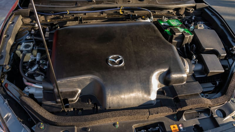 Mazda Skyactiv-X compression ignition engine technology