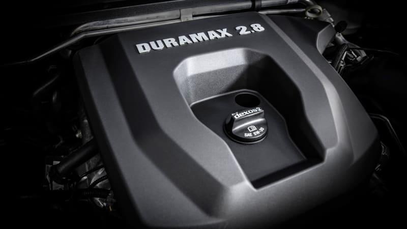 chevy duramax 2.8 liter turbodiesel