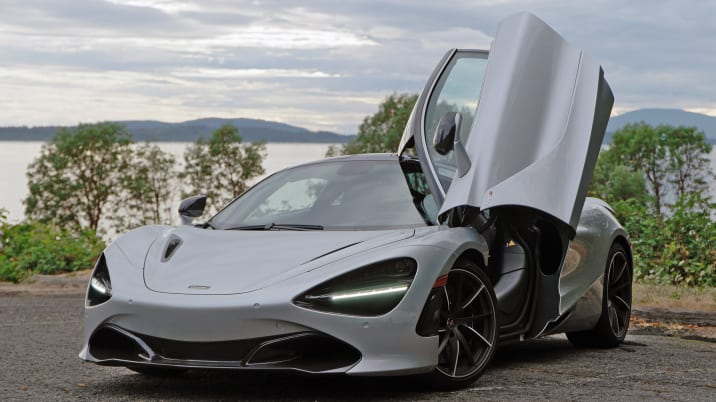 McLaren 720S door open