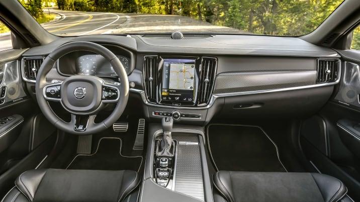 Volvo V90 and Jaguar XF Sportbrake comparison review - Autoblog