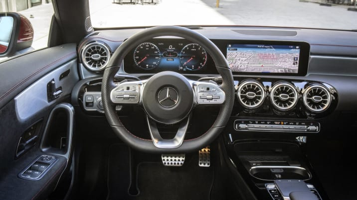 Image result for 2019 Mercedes-Benz CLA interior