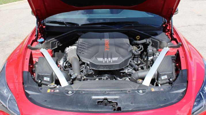 2018 Kia Stinger Base 4dr Rear-wheel Drive Sedan Pictures