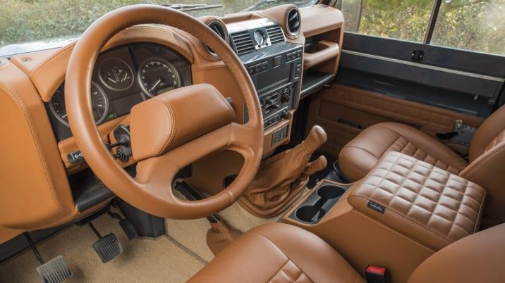 Vintage restomod Land Rover Defender 90 review | Autoblog