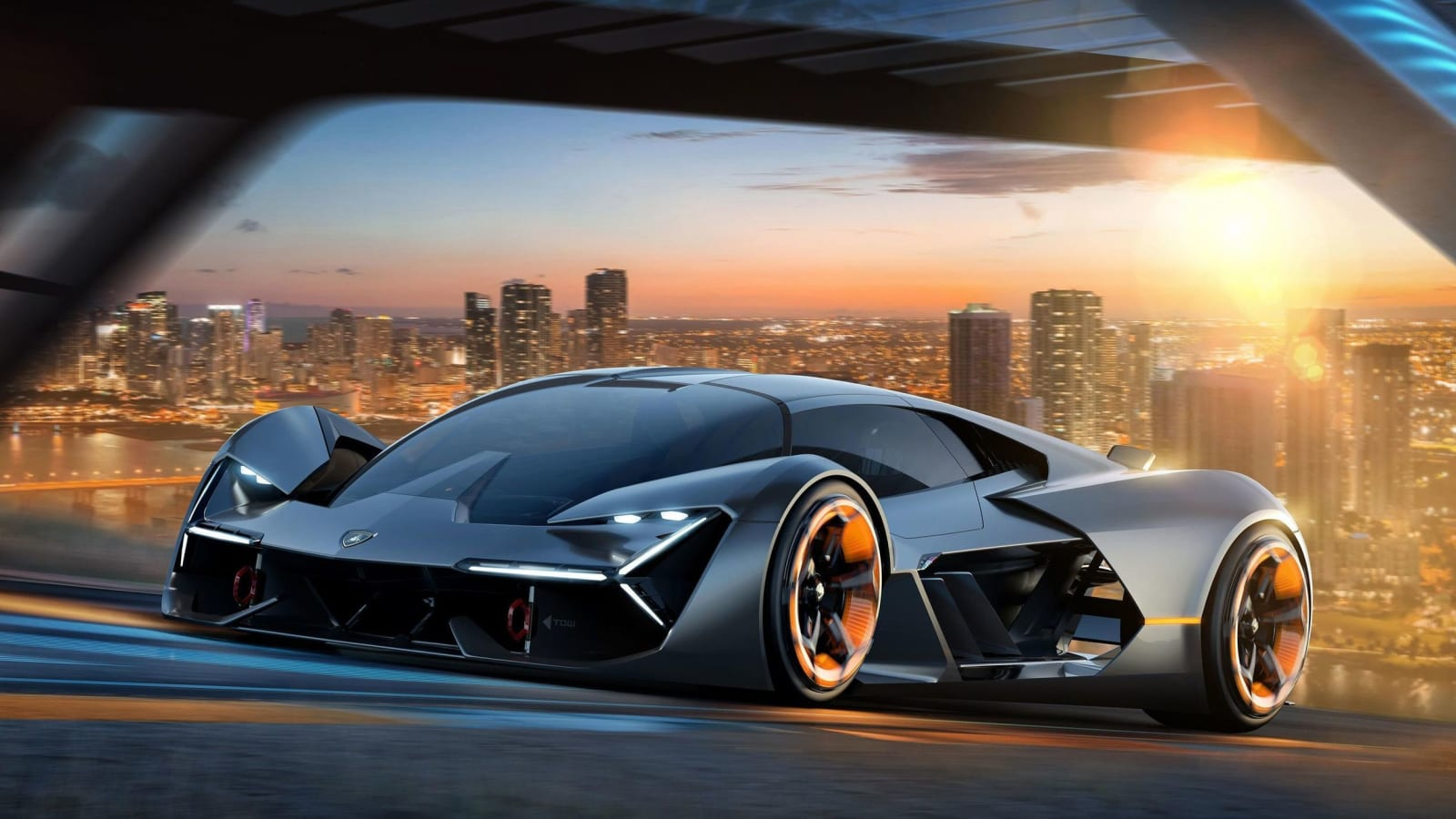 Lamborghini Lb48h Hypercar Due Next Year You Might Even Say It Glows