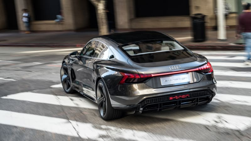 Audi E Tron Gt Concept Car Road Test Review Autoblog