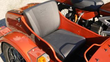 Ural Electric Prototype sidecar motorcycle
