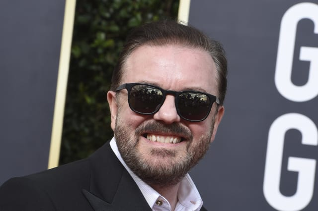 Ricky Gervais's best and most shocking jokes from the Golden Globes